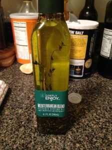 Mediterranean dipping olive oil